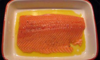 Рыбное филе в соевом соусе