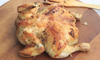 Запеченная курица целиком